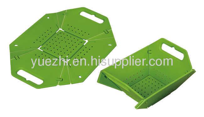 Foldable chopping block & washing basket