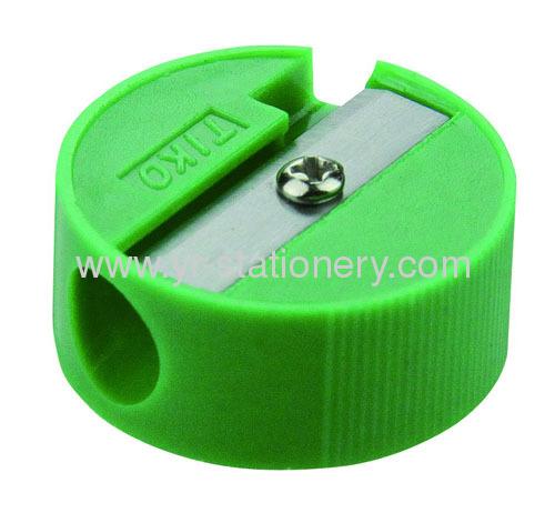 Single Hole Plastic Pencil Sharpener