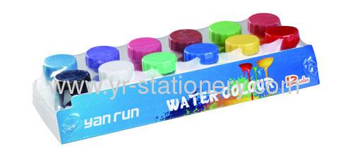 6pc Water color paints set for kids DIY