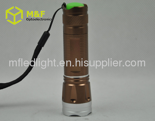 CREE Q5 Zoomable mini torch flashlight