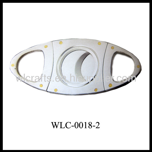 double blade plastic cigar cutter with various color