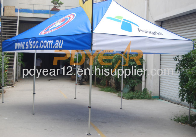 outdoor display pop up tent