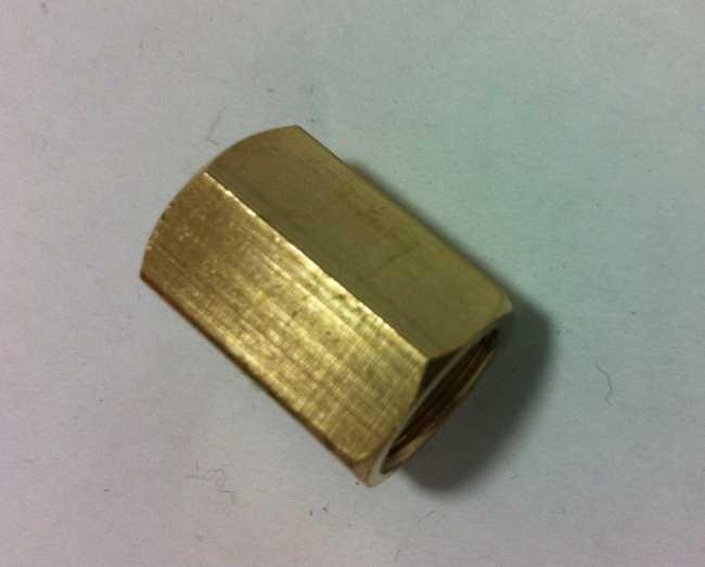 Brass Female Coupling/Brass Fitting