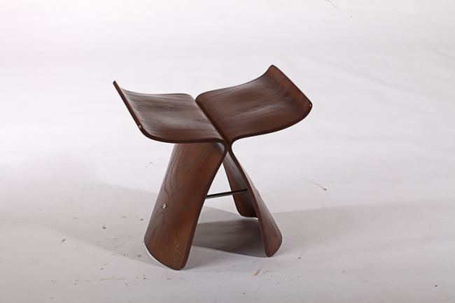 fashion style wooden yanagi butterfly stool living room stools
