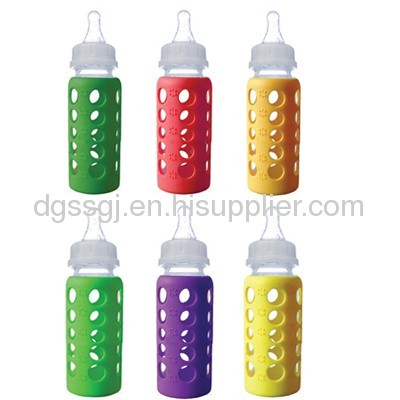 Heat-resistant Baby Products--Silicone baby milk bottle cover
