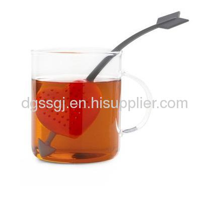 silicone filter tea/silicone tea infuser/tea ball
