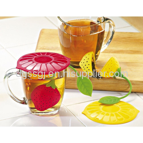 StrawberryShape Silicone Tea Infuser