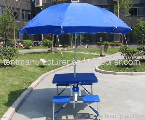 Beach Umbrella And Outdoor Table Set Manufacturer From China Hangzhou Gujia  Leisure Goods Co.,Ltd