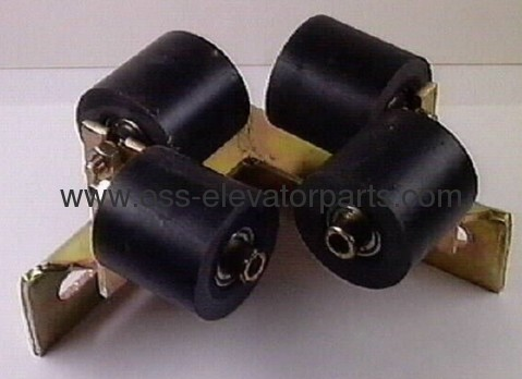 Compensation chain deflector rollers cpl (4 pcs)