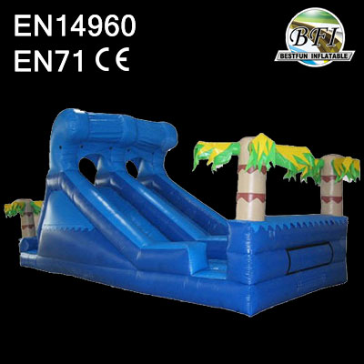 Surf's up Inflatable water slide