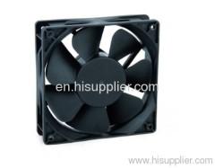 Axial motor spray fan