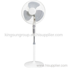 electric stand fan with round base