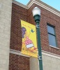 street banner or building banners