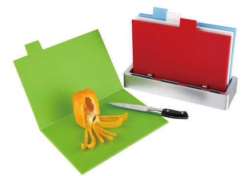 folding and unfolding chopping board