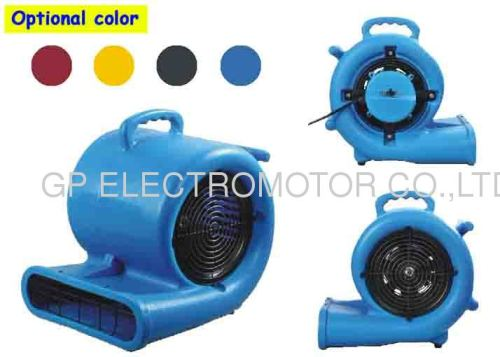 3-speeds Portability Air Mover Carpet Dryer with high powered motor for carpet and floor drying