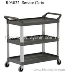 food carts aluminium trolley trucks