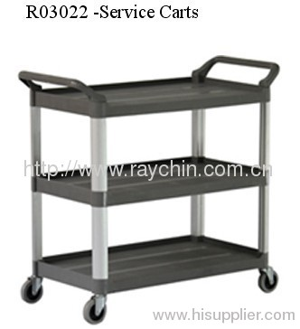 food carts aluminium trolley trucks