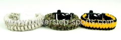 Military braided seven rope survival bracelet
