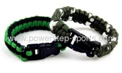 size adjustable parachute cord bracelet escape with one's li