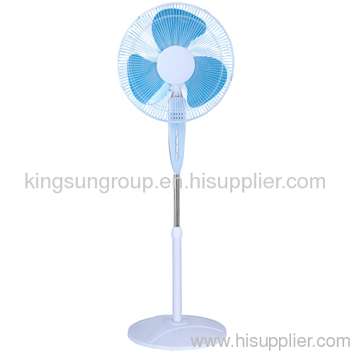 stand fan with light