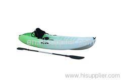 plastic kayak single sit on top kayak