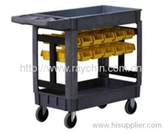 Service Carts with bin