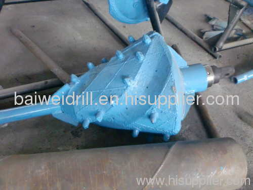 fluted back reamer for HDD machine