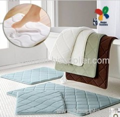 45D memory foam bath room antislip mat