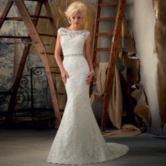 unique wedding dresses long