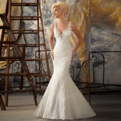 2013 Designs vestidos de noiva Slim A linha strapless
