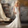Detachable Halter Wedding Dress