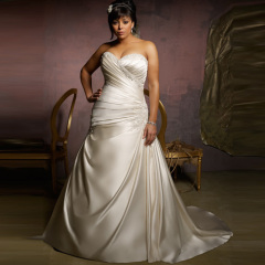 Unique Plus Size Wedding dress