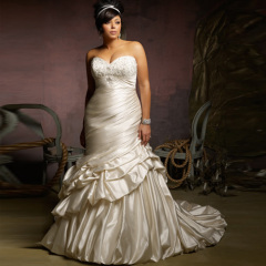 Best sexy Plus Size Wedding dress