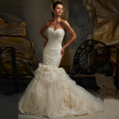 customize high quality 2013 wedding dress