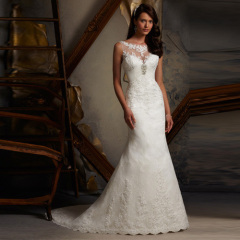 Newest Long Princess Wedding Dresses