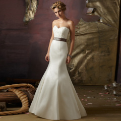 strap wedding dresses