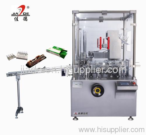 Automatic syringe cartoning machine