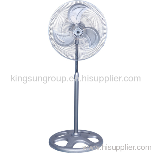 stand fan with metal blade