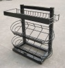 basket display rack