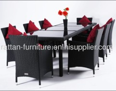 outdoor wicker Dining Room Set