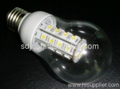 5w SMD corn bulb with transparent pc cover