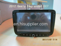 2012 Geely Emgrand EC7 DVD Navigation