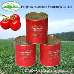 TOMATO PASTE 28-30% COLD BREAK good taste canned tomato past