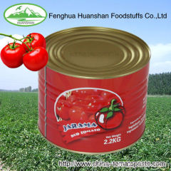 22-24% canned bright red tomato paste