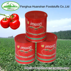 Fresh Canned Tomato Paste With Brix 28-30%