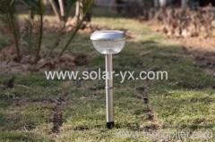 Steel Solar Garden Light