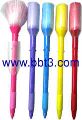 Promotion ballpen with brush