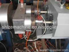 UPVC double pipe making machine