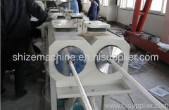 PVC cable trunking pipe making machine
