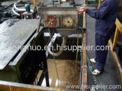 oil recovery and recycling tube oil skimmer